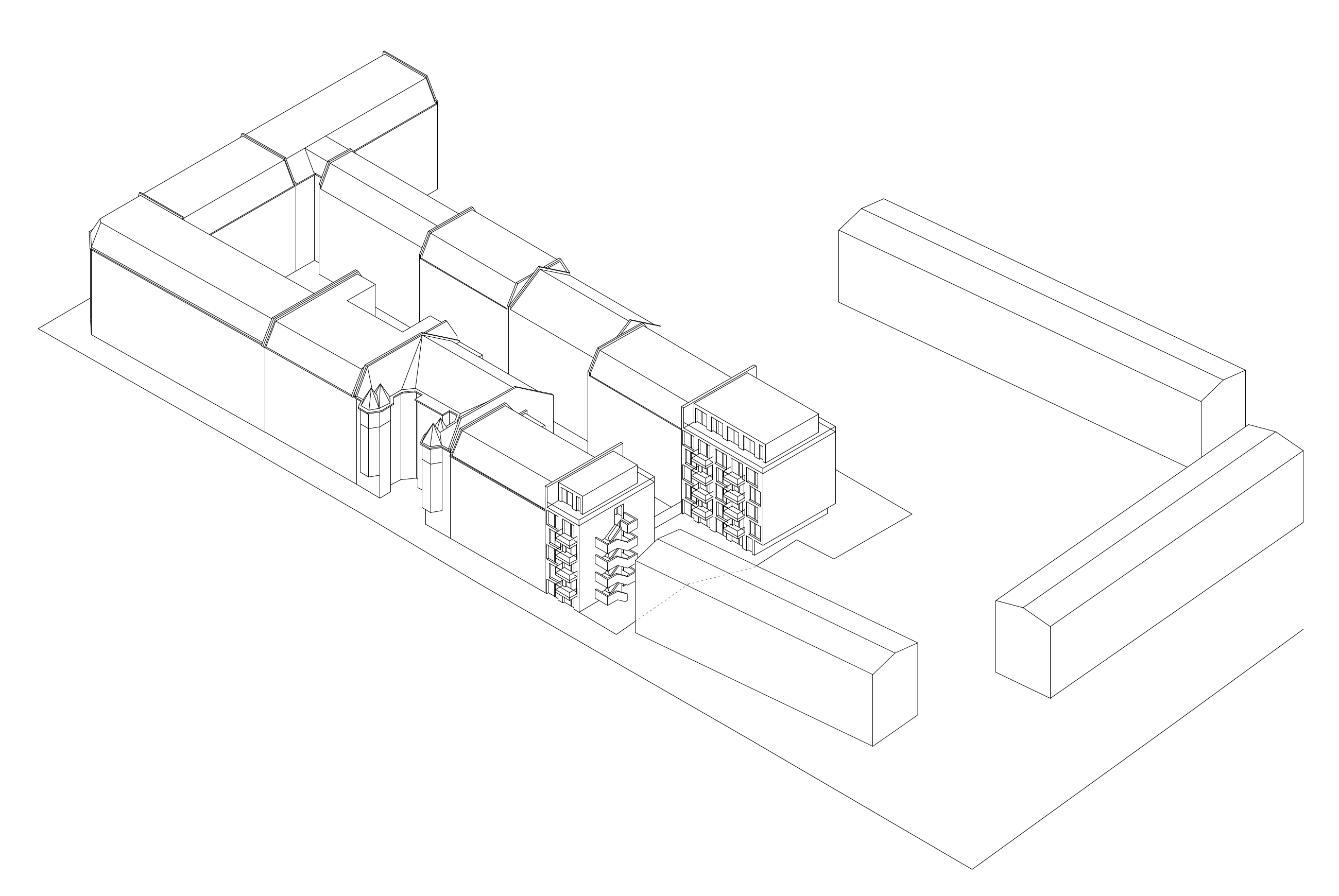 Wohnbebauung Rathenaustraße
