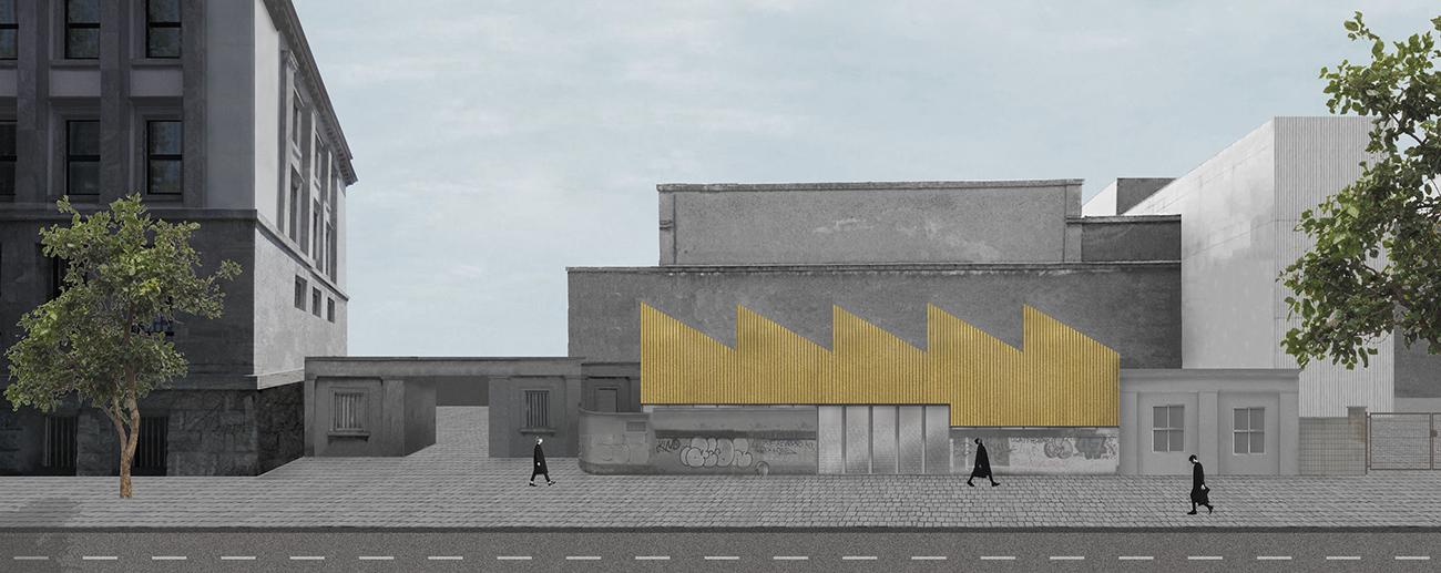 Visualisierung Festhalle Rheinstahlgelaende Tanja Lincke Architekten