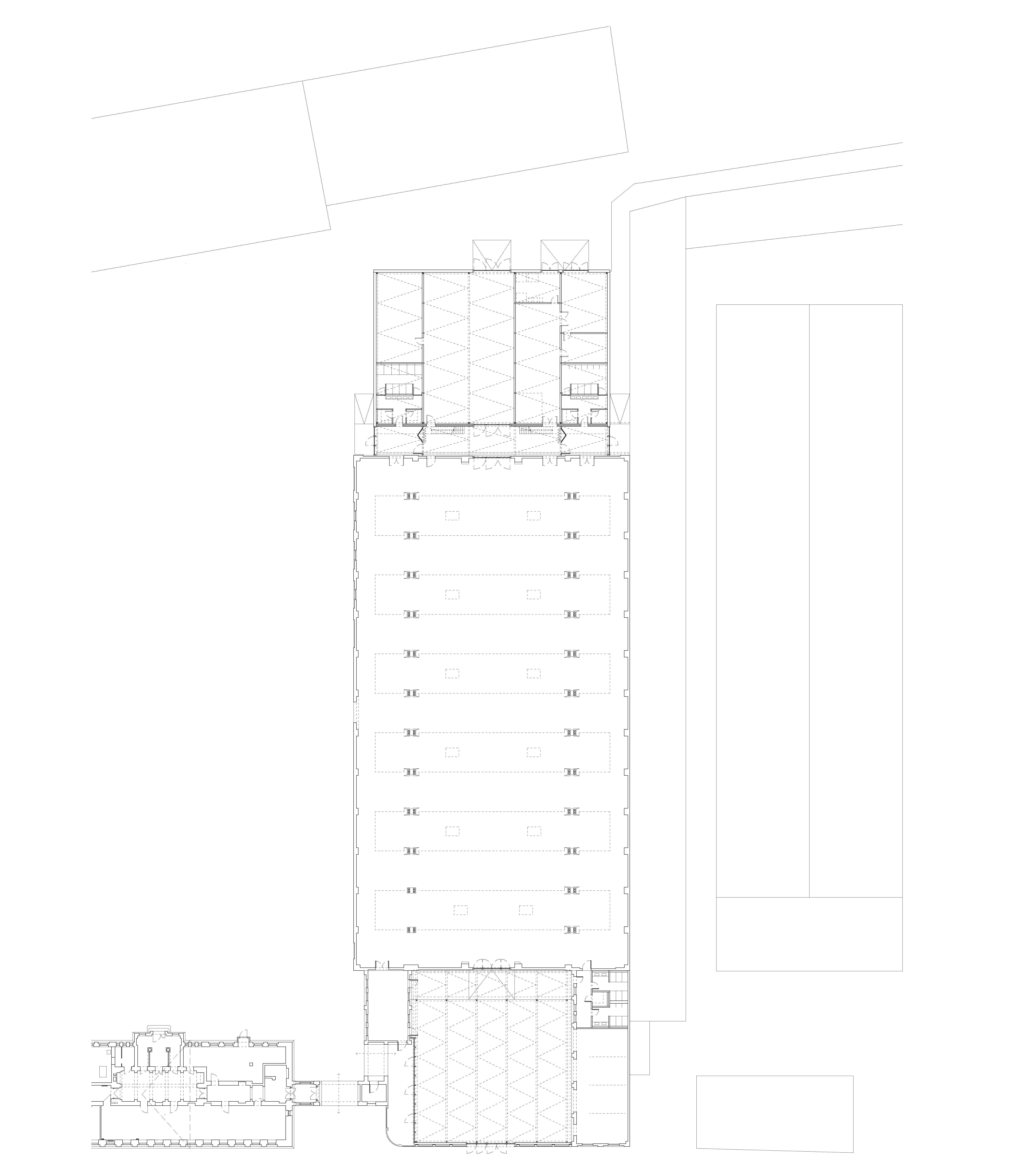 Rheinstahlhalle Grundriss Tanja Lincke Architekten