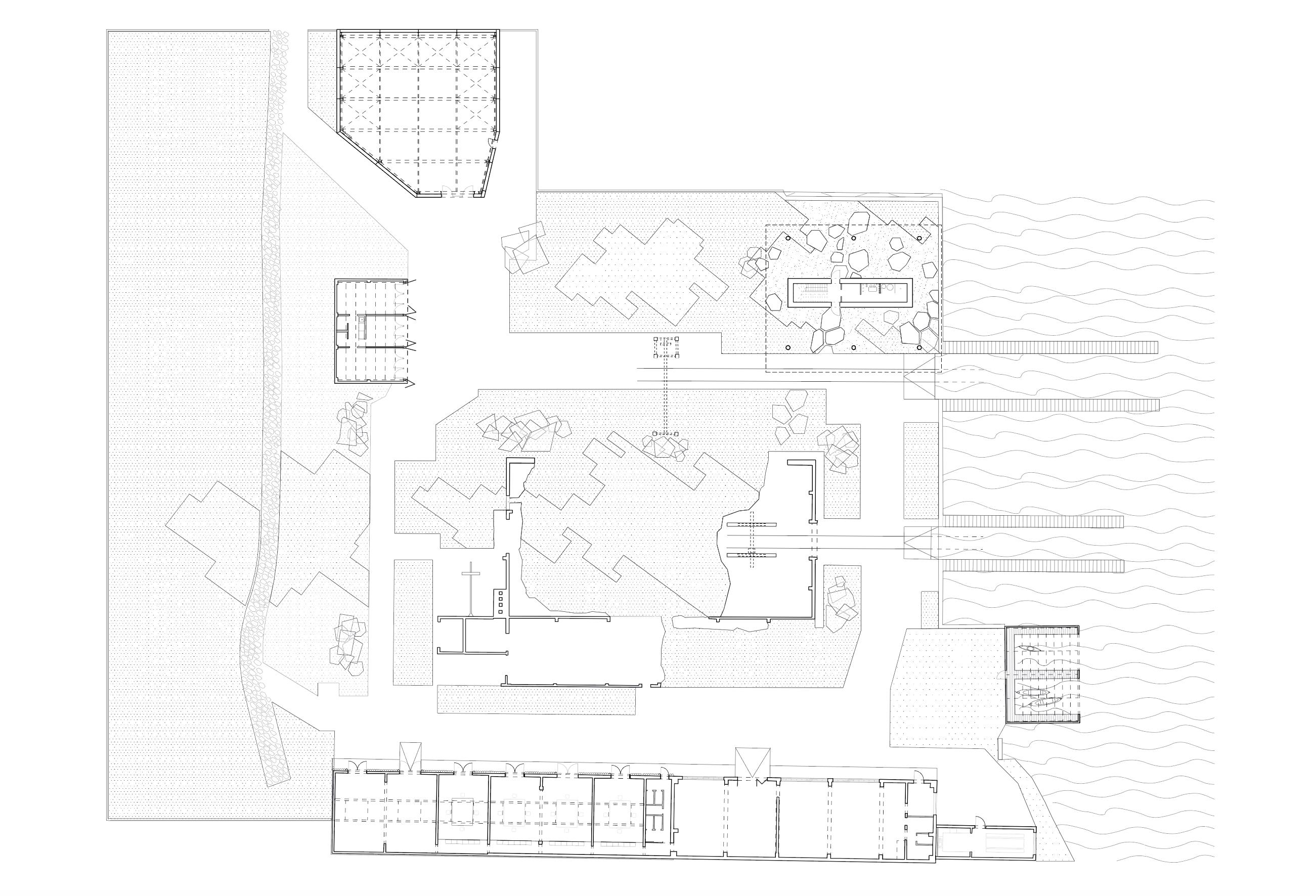 Ruinengarten Lageplan Tanja Lincke Architekten