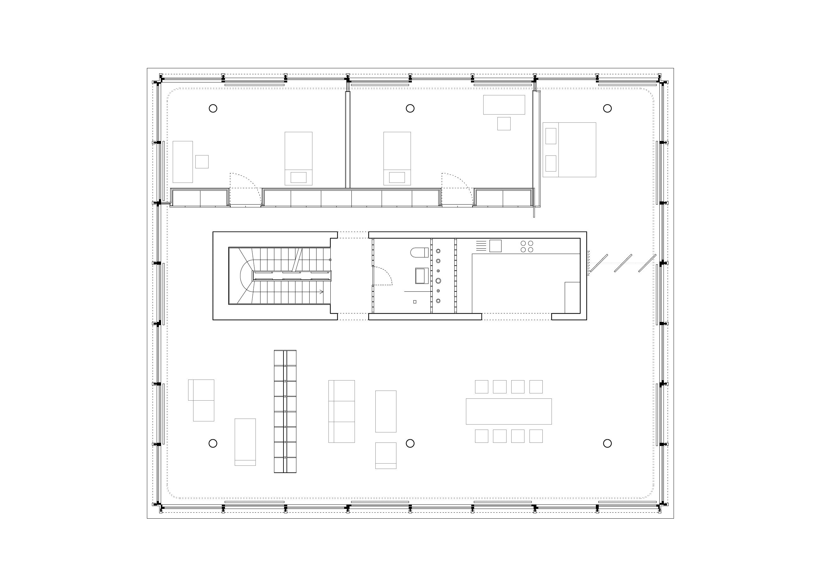 Haus an der Spree, Grundriss