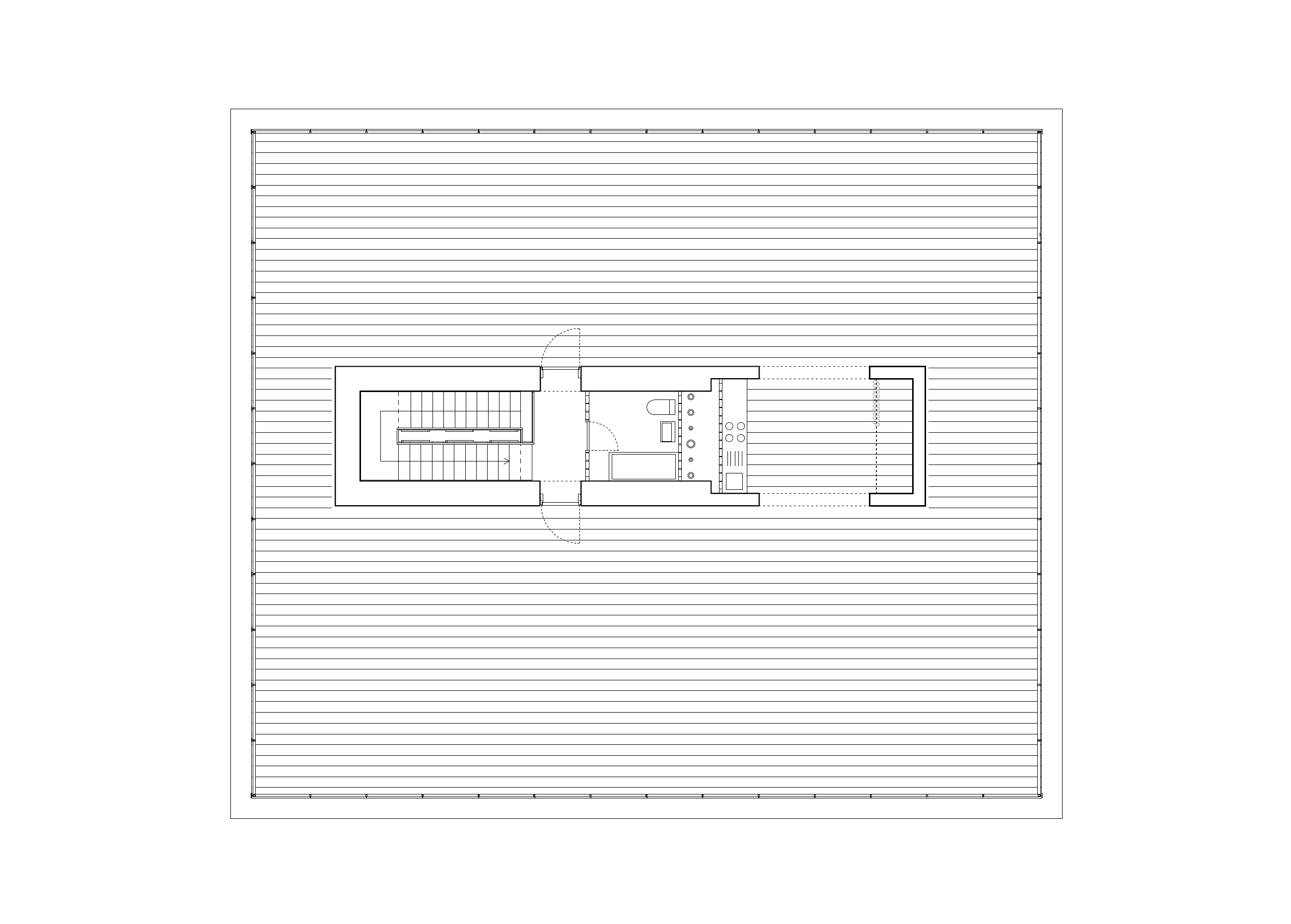 House on the Spree, floor plan of the roof